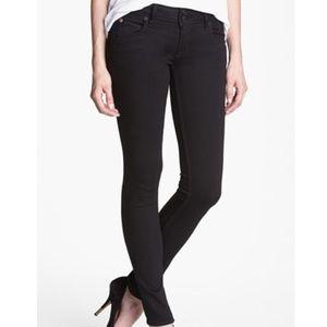 Hudson Black Colin Skinny Stretch Jeans NWOT
